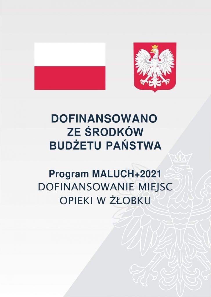 Dofinansowano z programu Maluch+ 2021